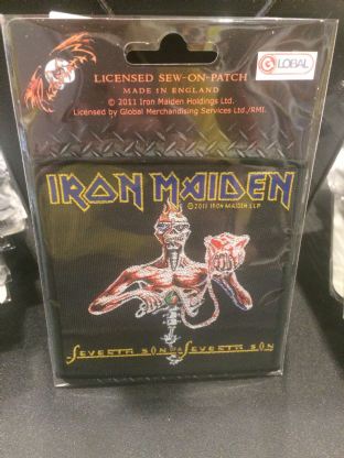 Iron Maiden Patch 7